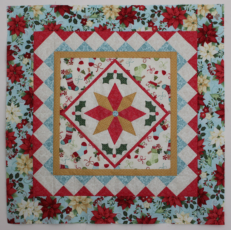 Star bright Wall Hanging by Julie Cefalu for Benartex