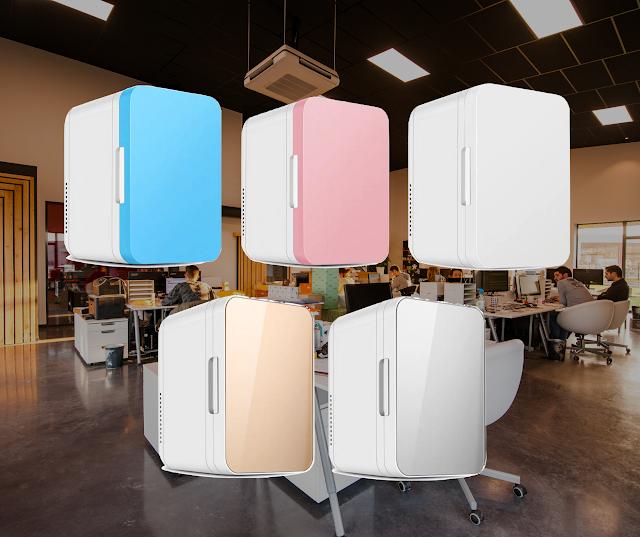 【網店特價】迷你雪櫃:車、家、辦公室三用 有製冷、熱功能