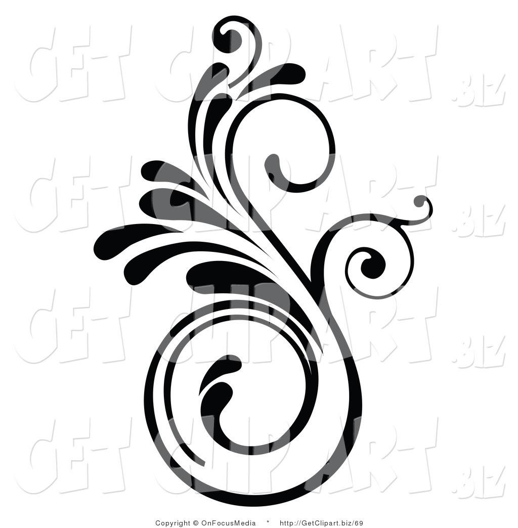 Pictures Of Elegant Black Swirl Design Kidskunstinfo