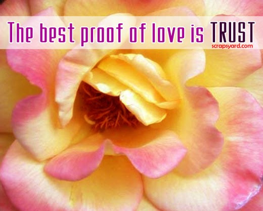 The Best Proof Of Love Is Trust Love Quote Quotespicturescom