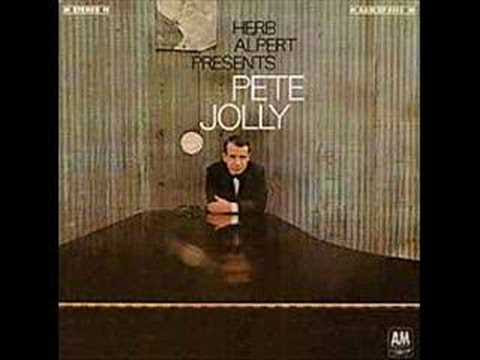 Pete Jolly's A&M albums featured on All About Jazz