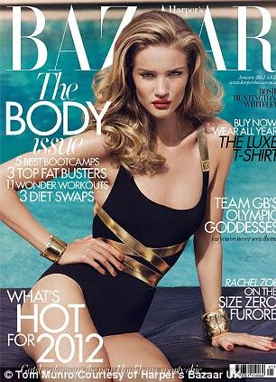 A entrevista completa aparece na edição de janeiro da Harper Bazaar do Reino Unido, a 05 de dezembro