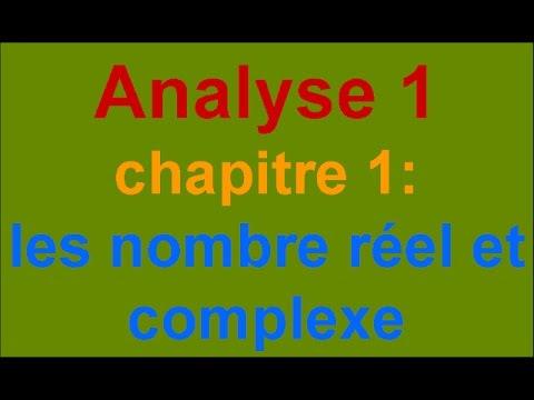 ANALYSE 1 S1 SMPC