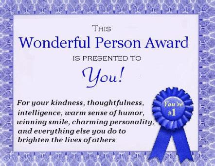 You Are A Wonderful Person Quotes