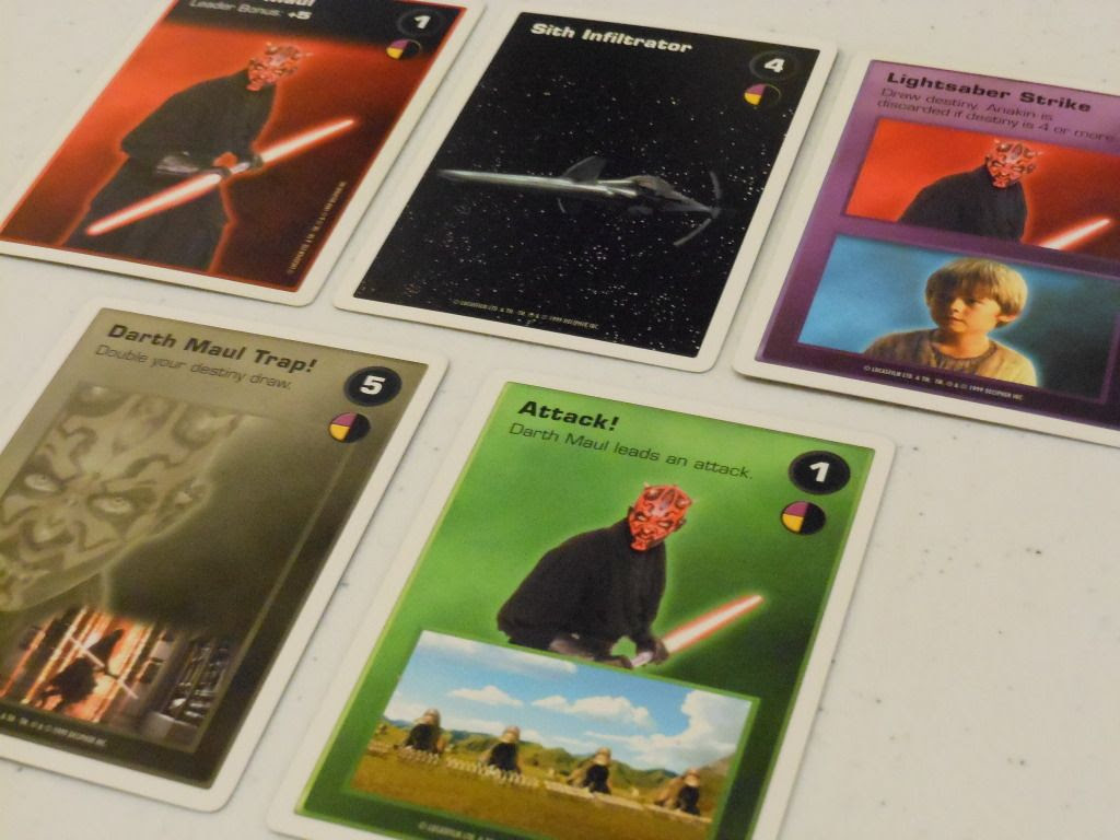Star Wars Episode I Customizable Card Game