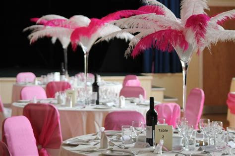 1000  images about Feather Centerpieces on Pinterest
