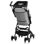 Buggy Portable Pocket Compact Lightweight Stroller Easy Handling Folding Travel -Gray