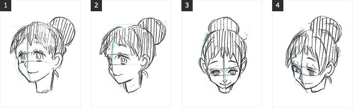 顔の描き方 基本知識 デジタルイラスト漫画描き方大全