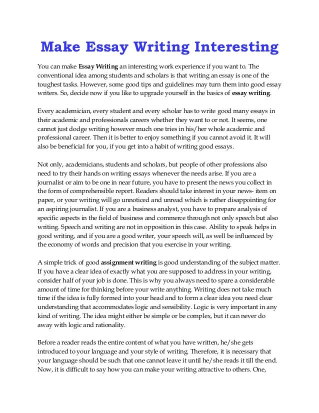 Perfect day essay