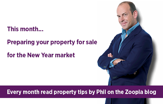 Phil Spencer's property tip of the month - Preparing your property for sale for the New Year market