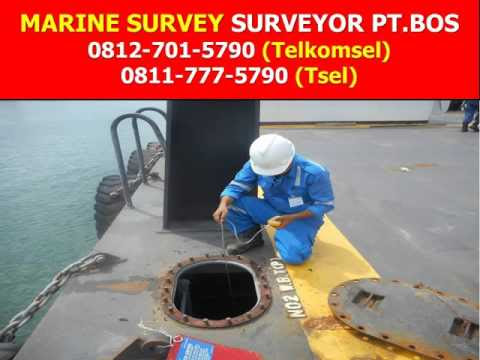 Video Marine Surveyor & Inspection Services based at INDONESIA