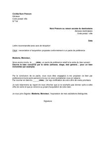 Modèle De Lettre De Renonciation à Succession - Exemple de ...