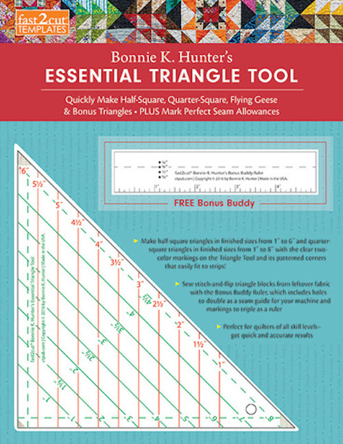 fast2cut Bonnie K. Hunter's Essential Triangle Tool