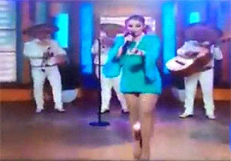 Uma das cenas mais constrangedoras transmitidas ao vivo pela TV aconteceu com a cantora mexicana Patrícia Navidad. Elaperdeu o absorventeenquanto se apresentava em um programa dos Estados Unidos. Os comentários sobre o caso foram inúmeros!