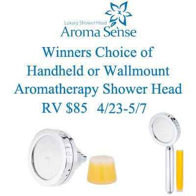 Aromasense-Showerhead-Giveaway
