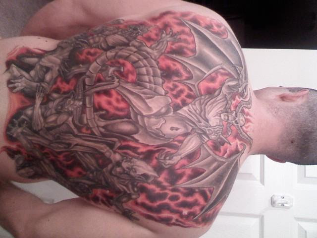 Gates Of Hell Tattoo Picture