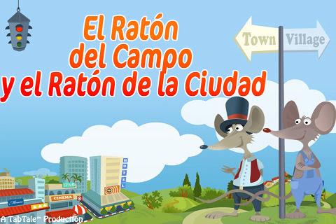 El Ratón del Campo y el Ratón de la Ciudad - Un Cuento Interactivo HD para Niños 1.1
