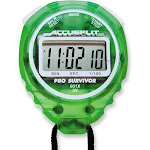 Accusplit Pro Survivor A601X Stopwatch Lime