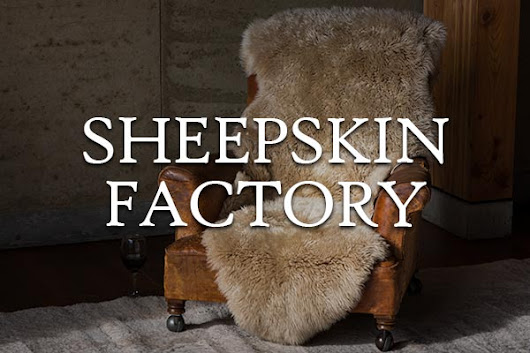 Welcome to the New Sheepskin Factory Website!