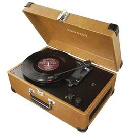 Crosley CR49 Traveler Portable Turntable