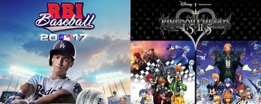 New Retail Releases: MLB The Show 17, RBI Baseball 2017, Kingdom Hearts 1.5 + 2.5, More