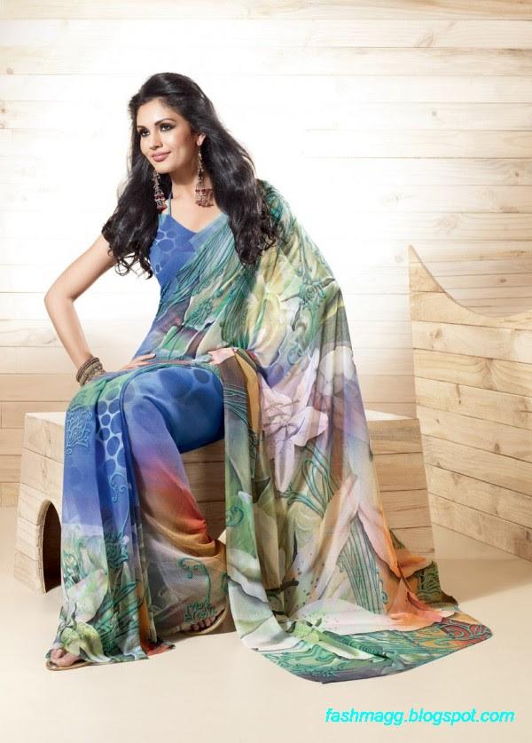 Printed-Saree-Indian-Pakistani-Beautiful-New-Fashionable-Sari-Collection-2013-2