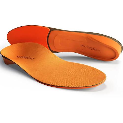 Superfeet Insoles, Orange E (Men's 9.5-11/Women's 10.5-12)