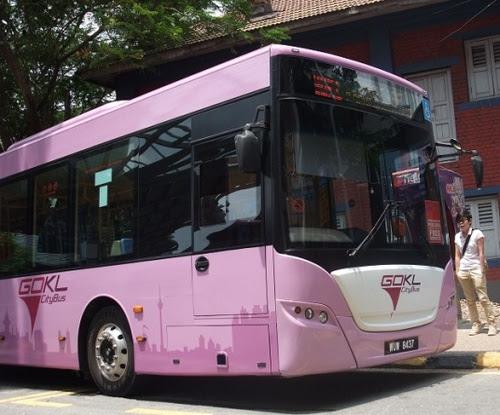Безплатният Go KL City Bus
