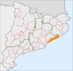 Localització del Maresme.svg