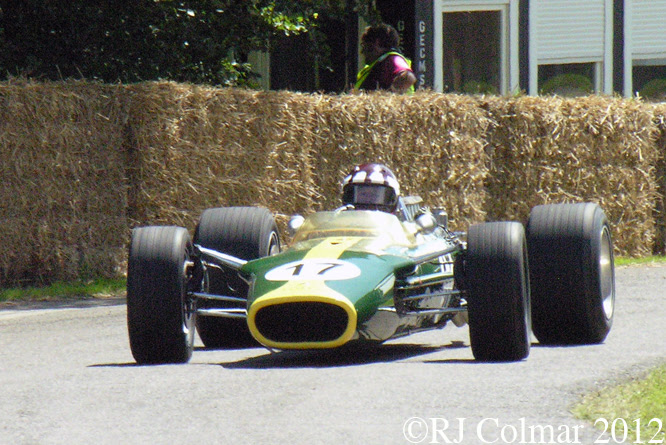 Lotus 49, Goodwood Festival of Speed