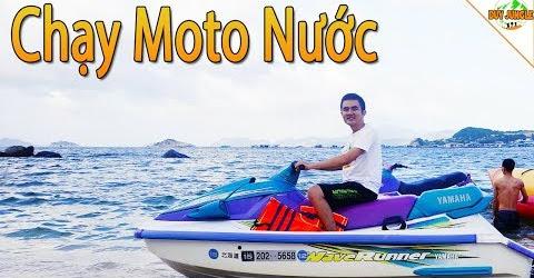 Lần đầu đi Moto Nước cảm giác thật đã | Du lịch đảo Bình Hưng | Duy Jungle