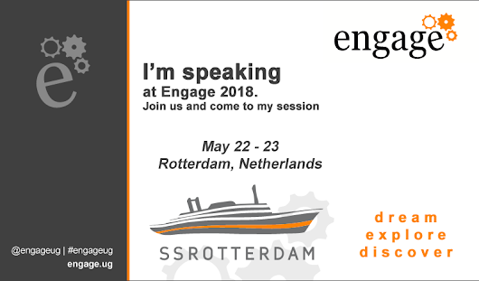 Collaborate on a Boat! Come to Engage in Rotterdam With Me