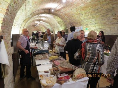 A wine & local food festival in Monterado,  - Foodie Tour Accross Italy with Benfatti