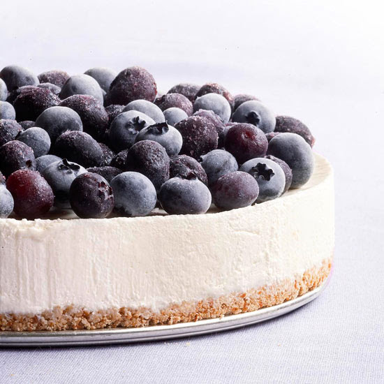 Frozen Blueberry Cheesecake
