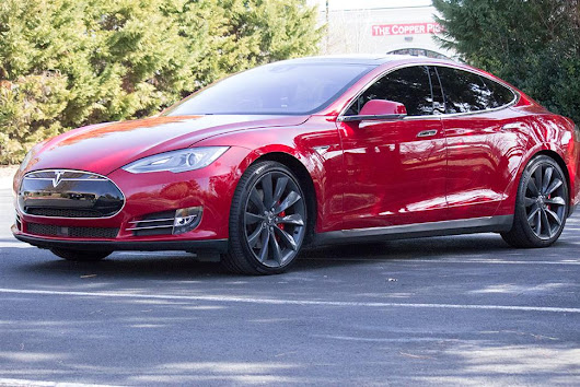 2015 Tesla Model S lease in Fayetteville, AR