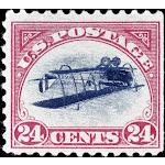 U.S. Postage Stamp, 1918. /Nthe 1918 United States 24