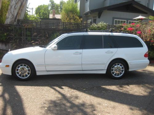 Purchase used 2002 MERCEDES BENZ E320 WAGON THIRD SEAT 7 ...