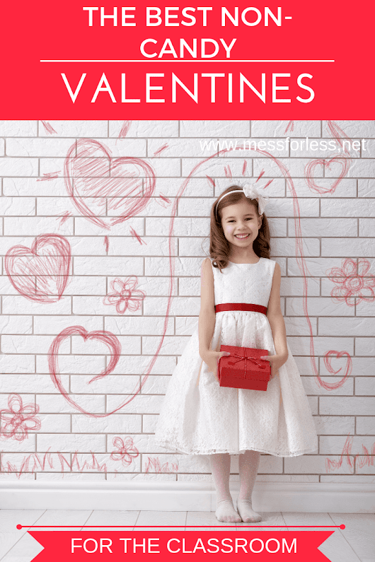 The Best Non-Candy Valentines - Mess for Less