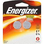 Energizer 2025BP-2 Lithium Button Cell Battery - 2 count
