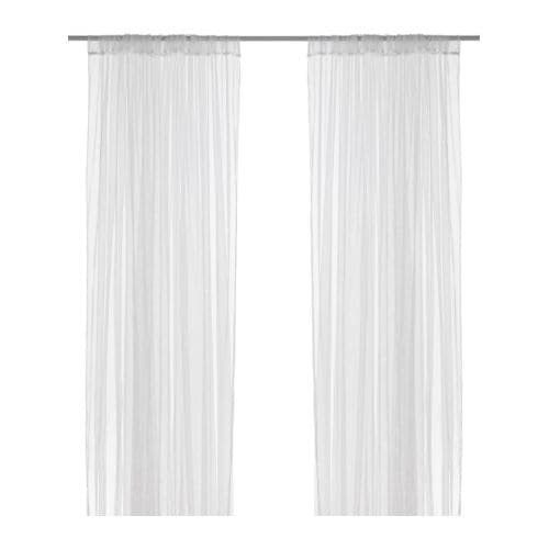 LILL Lace curtains, 1 pair IKEA