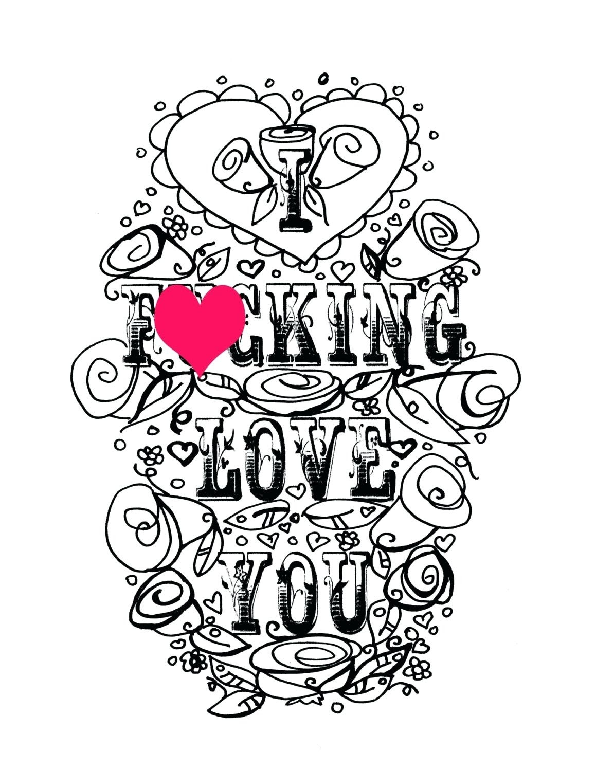 We Love You Coloring Pages at GetColorings.com | Free ...