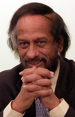 Rajendra K. Pachauri, the chair of the Intergo...