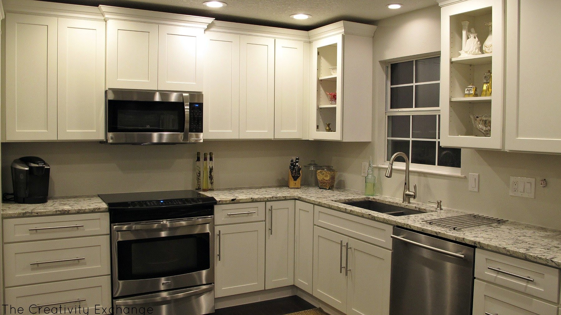 Cousin Franks Amazing Kitchen Remodel {Before  After}