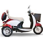 EWheels EW-11 3 Wheel Sport Mobility Scooter, Red