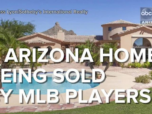 VIDEO: 5 expensive Arizona homes for sale by MLB players