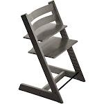 Stokke Beech Wood Ergonomic 2019 Tripp Trapp Chair (Hazy Grey)