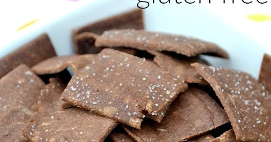 Soaked Teff Crackers | Just Take A Bite | lunch box | Pinterest