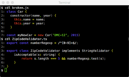 Syntax Highlighting in the Terminal
