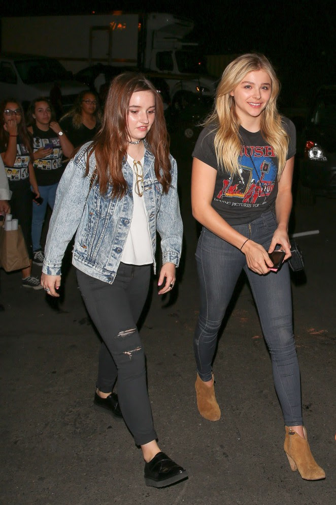 Chloe Moretz and Kaitlyn Dever: We Can Survive Concert -04