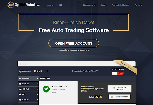 • Option Robot Auto Trading Software - Scam or Not? •